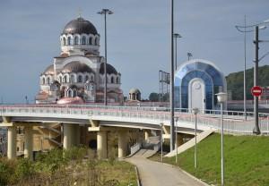 Храм Христа Спасителя в Сочи