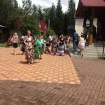 Храм Андрея Первозванного в Сочи в день Святой Троицы
