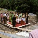 Священнослужители города Сочи совершили «чин на основание храма», что обыкновенно называется закладкой храма  Фото: iraukr